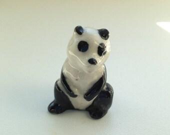 1950's Wade Whimsie SET 8 - Zoo Animals (1957-61) Large Panda