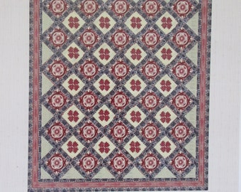 Michael's Quilt c.1840-Quilt Pattern-Reproduction Quilt by Karen Witt