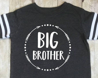 Big Brother Shirt-Big Brother Announcement Shirt-Sibling Shirt-Pregnancy Announcement Shirt-New Baby Announcement-Pregnancy Reveal
