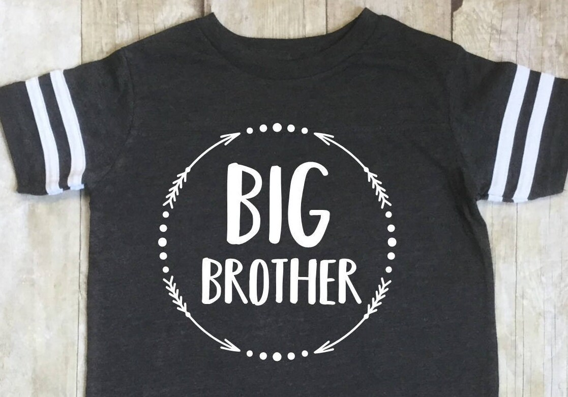 Big Brother Shirt Big Brother Announcement Shirt Sibling Shirt