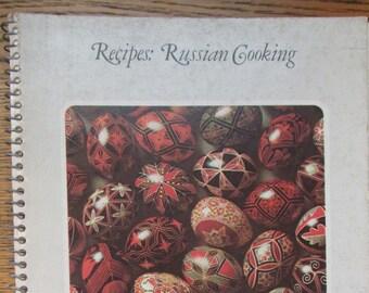 Vintage Russian Cookbook