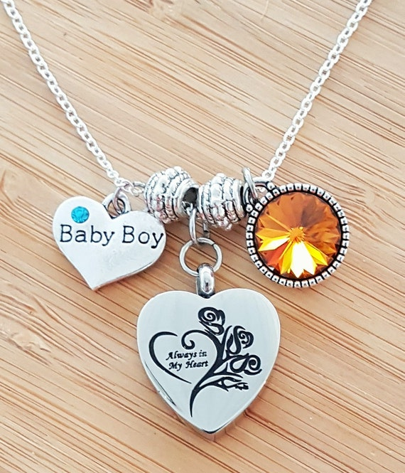 Urn Necklace Miscarriage Stillbirth Gift Stillborn Bracelet Stillborn Gift Sympathy Gift In Memory of Baby Loss of a Child Loss of Baby
