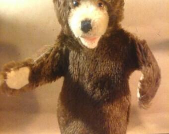 Vintage 1950s STEIFF BEAR Hand Puppet