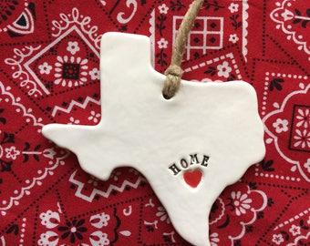 San Antonio Home Ornament, San Antonio Texas Home Ornament