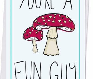 Fun Guy postcard