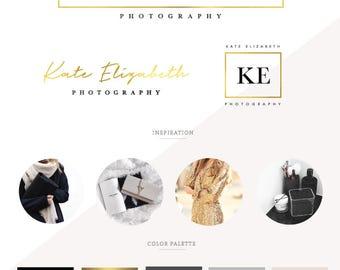logo design, branding package, logo, business logo design,  branding kit, business logo, logo design custom, feminine logo, photography logo