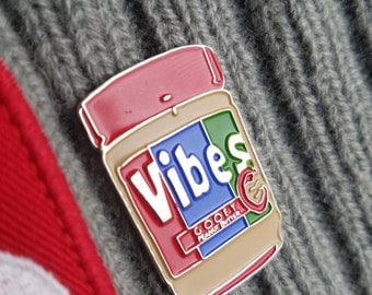 Glass Animals band Gooey Peanut Butter Vibes hat pin