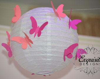 Customized Paper Lanterns -- SET OF 3