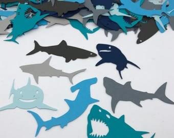 Shark Confetti - Great White, Hammerhead, Tiger & More!