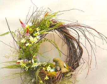 Robin Nest Wreath