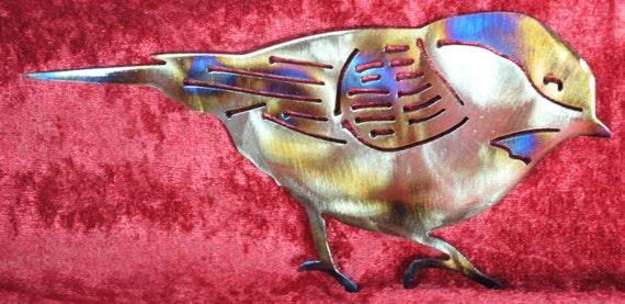 Finch, Bird, Wall Hanging, Metal Bird, House Warming Gift, Indoor Wall Art, Outdoor Wall Art, Gift for Him, Gift for Her, Nature Art, Sky,