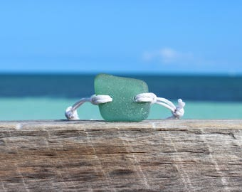 seaglass bracelet teal seaglass bracelet beach glass bracelet ocean bracelet beachy bracelet seaglass jewelry genuine seaglass ocean jewelry