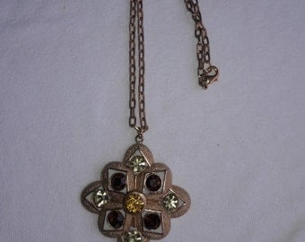 Sarah Coventry Rhinestone Vintage Necklace