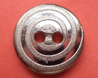 10 buttons silver 16mm (1130) button