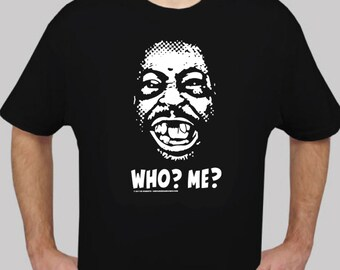 BEETLEJUICE WHO? ME? 100% Cotton Short Sleeve T-shirts Howard Stern Wackpack
