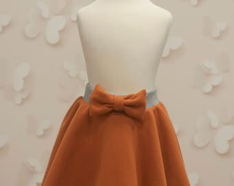 Cute skirt with ribbon