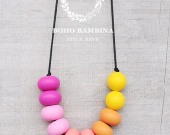 DESERT SUNSET - Silicone Necklace