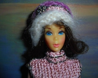 Barbie Flip 1968 Twist'n turn/Vintage/Nice Brunette Excellent condition