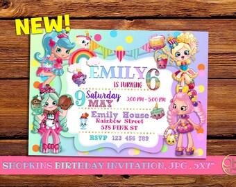 Shopkins Birthday Invitations, shopkins birthday, shopkins invitation, shopkins birthday, shopkins, shopkins party, invitación shopkins