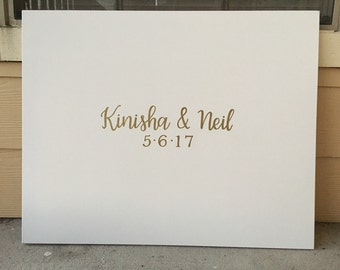 Wedding Canvas | Wedding Guest Book | Guest Book Sign | Custom Canvas | Wedding Sign | Wedding Welcome Sign