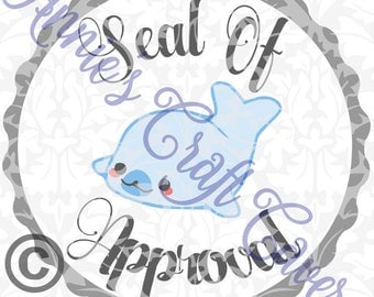 Seal Of Approval SVG