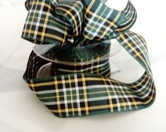 38 mm Ribbon Irish National Tartan