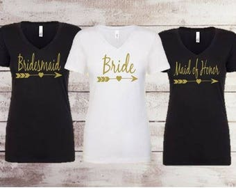 Bride   Bridesmaid   Maid of honor