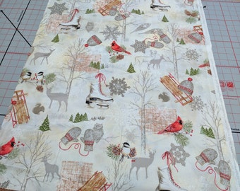 Winter Celebration Cotton Fabric from Red Rooster Fabrics