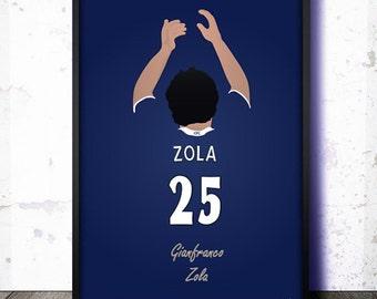 Chelsea FC Legends: Gianfranco Zola