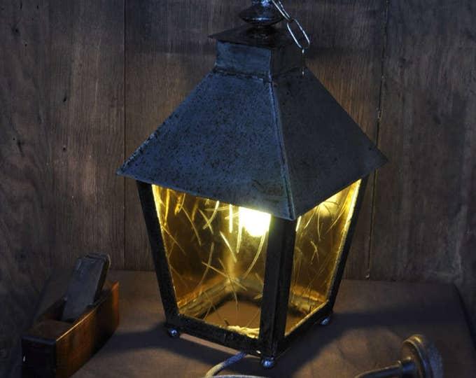 Big metal vintage light