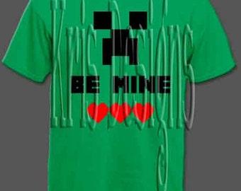 Be Mine - Minecraft SVG PNG JPG