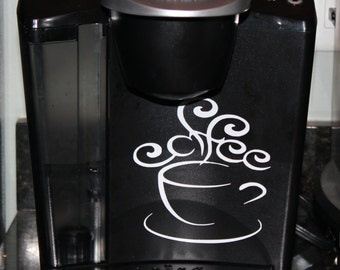 Keurig Coffee Maker Decal