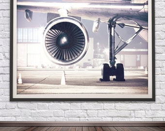 aviation art plane art office art aviation gifts airplane wall art aircraft art airplane decor aviation - Aviation Decor