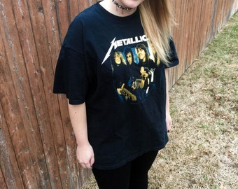 1 of 1- Customizable Bravado Licensed Garage Days Metallica Shirt Size XL