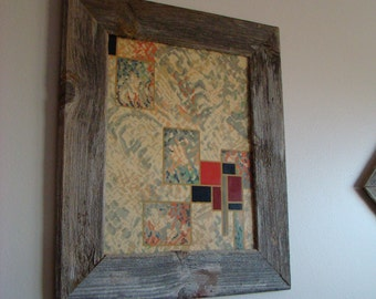 BarnWood Frame 11 x 14, Old Barn Wood, Recycled, RePurposed, UpCycled, Reclaimed, Vintage Farmhouse Wood Frames, Seasoned by Nature!