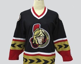 Vintage Ottawa Senators Sweater // Vintage Hockey Sweater // NHL Jersey // Vintage NHL // 90s