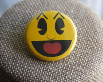 Pacman Button, Pacman Pin
