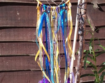 Yellow and Blue Dreamcatcher