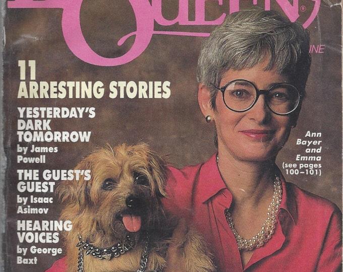 Ellery Queen's August 1991 Mystery Magazine