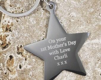Personalised Mother Celebration Keyring