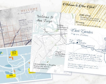 Custom Map or Directions: Designed to Match Any Style