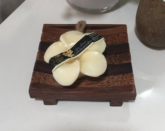 Timber & Coconut Wood Soap Holder Dish
