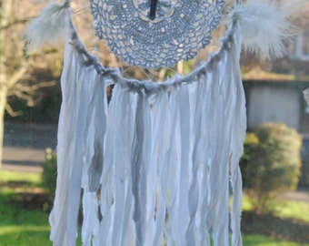 Vintage White Doily Dream Catcher