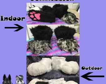 Custom Foot Paws