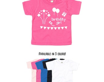 Baby birthday shirt, baby tee, birthday girl shirt, baby shower gift, birthday shirt, baby birthday girl, happy birthday, baby birthday tee