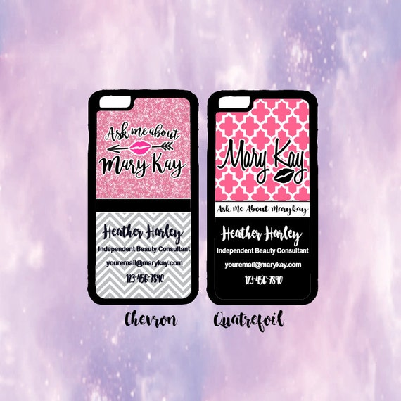 mary kay phone case glitter mary kay phone case quatrefoil