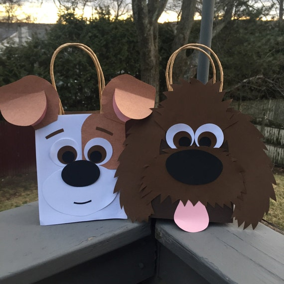 Set Of 16 Dog Gift Bags / Party Favor Gift Bag / Goodie Bag