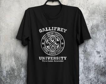 Gallifrey University Shirt Dr Who T-Shirt Gallifrey University Tee Dr Who Shirt