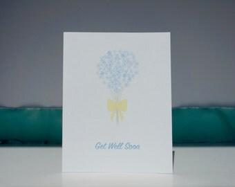 Get Well Soon // Get Well Soon Card // Get Well Card