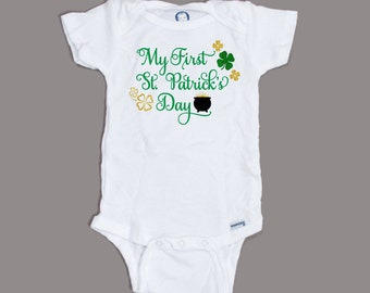My First St. Patrick's Day - Baby's First Holiday